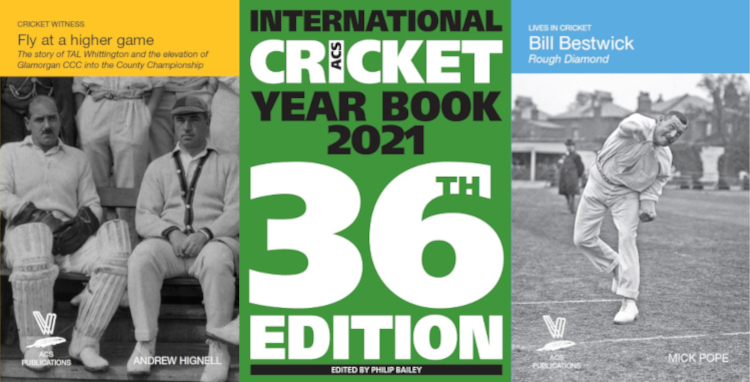 TAL Whittington, International Cricket Year Book 2021, Bill Bestwick