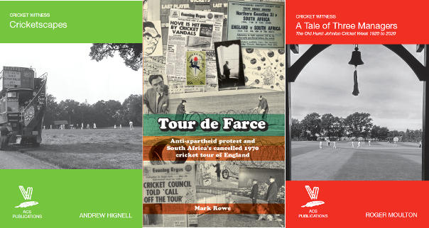 Cricketscapes, Tour de Farce and A Tale of Three Managers